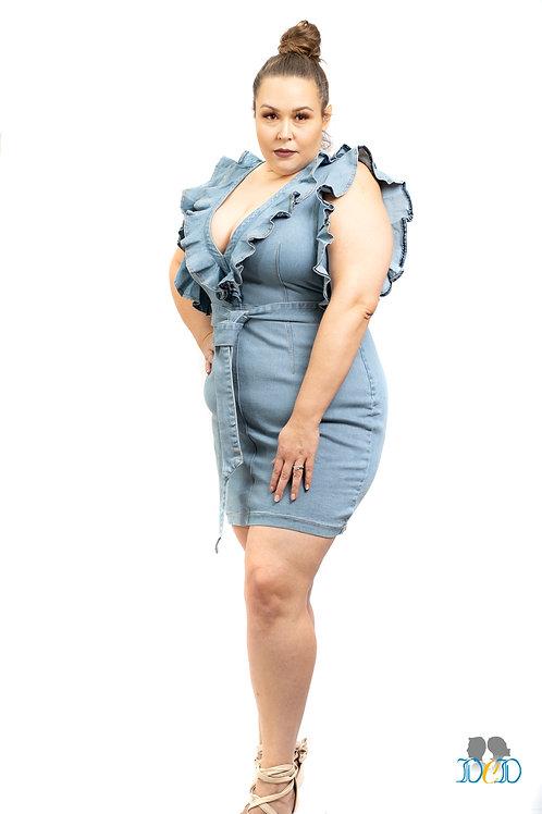 You R Exclusive Denim Dress
