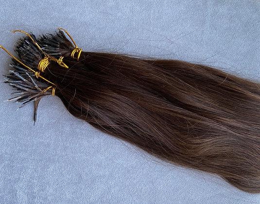 Brukt hår- full hode nanoring med påsett 35-40cm