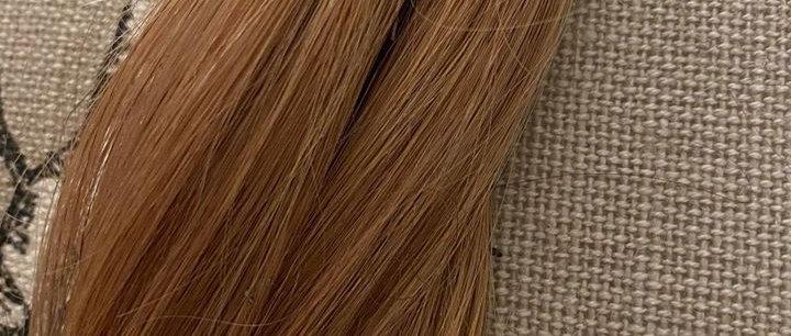 Modellpris for tynne punkter #27 gylden blond