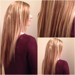 mikroring extensions kunde! :-)