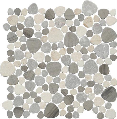 Pebble Marble Mosaic - Sand Dune