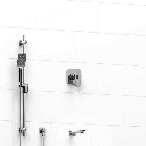Riobel Equinox 2-Way Thermostatic Shower Kit (Tub Only)