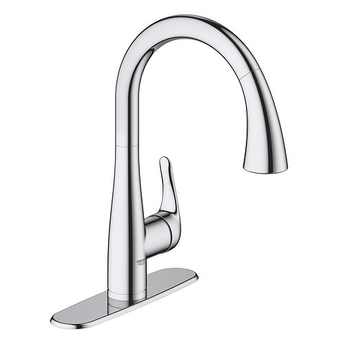 Grohe Elberon Pull-Down Kitchen Faucet