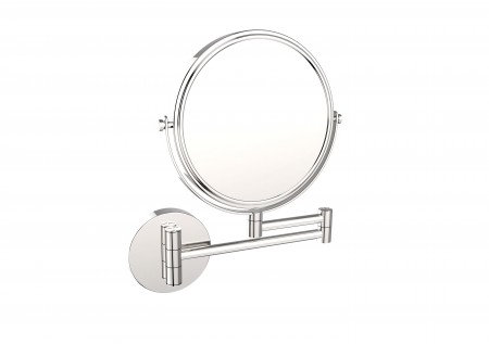 Round Wall-Mount Swivel Mirror