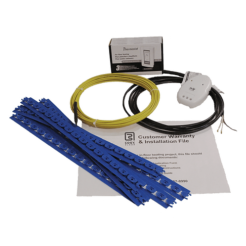 ICO CosyFloor Cable System with Thermostat