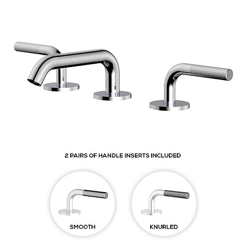 "Aquabrass MB2 8"" Widespread Faucet"