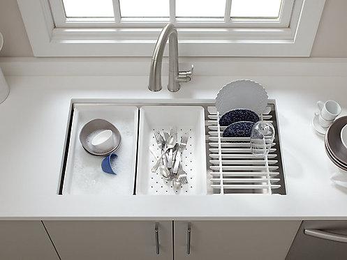 Kohler Prolific Single Bowl Work-Station Kitchen Sink