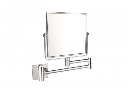 Square Wall-Mount Swivel Mirror