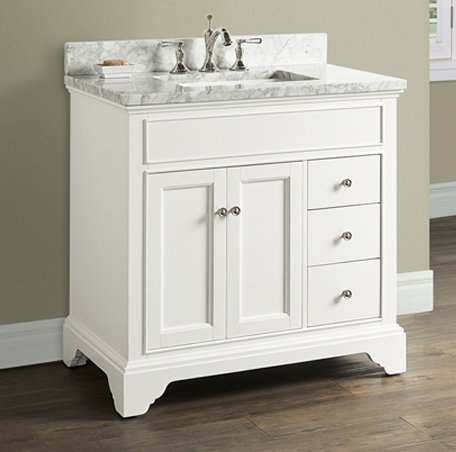 "Fairmont Framingham 36"" Vanity with Drawers"