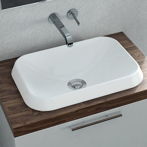 CALMA ROSSINI RECTANGLE VESSEL SINK