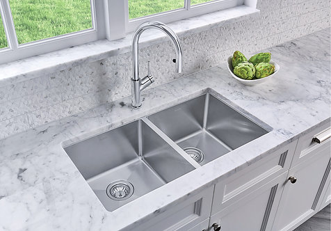 Blanco Quatrus R15 U 2 Kitchen Sink