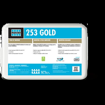 Laticrete 253 Gold Thin-Set Mortar 50lb
