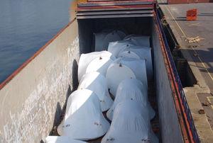 Survey Wind Turbine Shipment