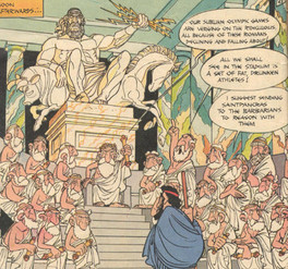 Asterix at the Olympic Games page 29