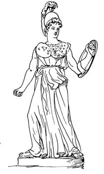 Colouring Athena
