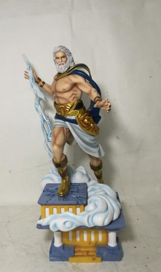 Greek Myth Zeus Fantasy Figure