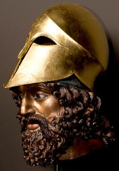 Bronze Statue of a Greek Hero, Reggio di Calabria (Riace A)