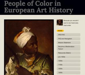 Link: People of Color in European Art History