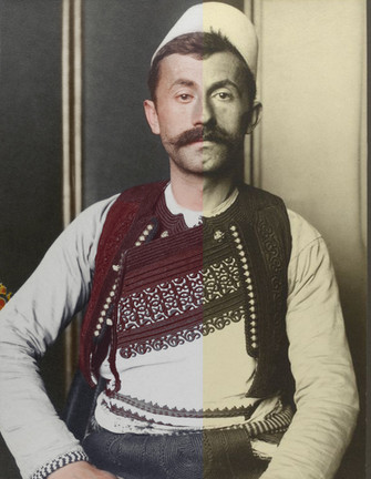 Link: Digital colourisation of 100 year old portraits