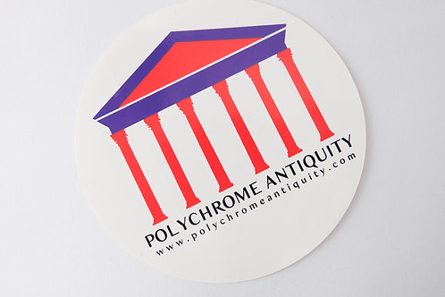 Polychrome Antiquity Sticker