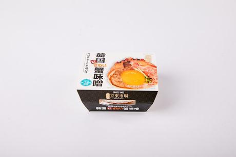韓国紅ずわい蟹味噌