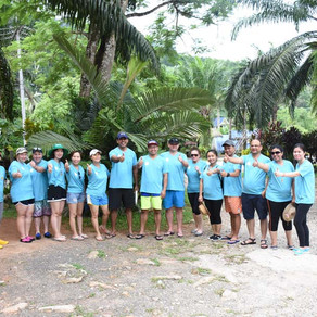 Adventure Team building in Phuket with ATV and White Water Rafting.
