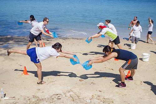 Team Bonding Ocean Day Hurray
