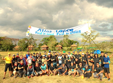 Adventure Team building at Lilawalai Khao Yai with Atlas Copco