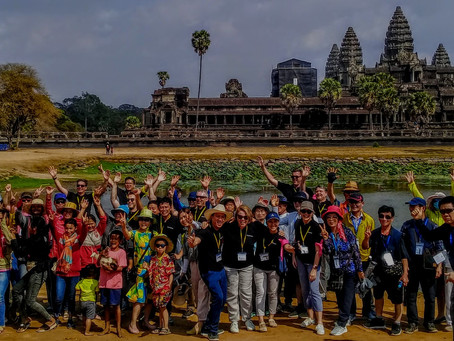 6 reasons why team building in Cambodia will be popular again