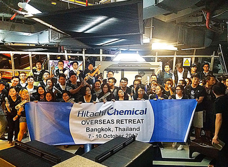 Team building laser tag games at Bangkok Siam Square