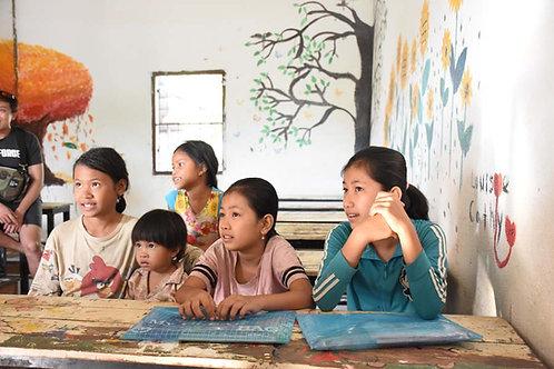 Classroom teaching a CSR activity
