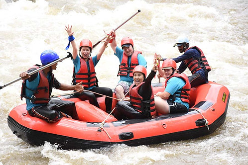 Phuket adventure team building with white water rafting and ATV