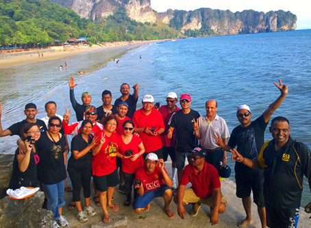 Team building in Krabi with Spectra Innovations