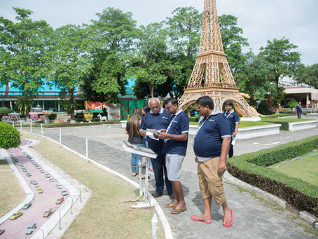 Team building at Mini Siam in Pattaya