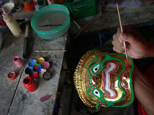 Khon Mask Painting