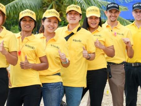 Team building event with Michelin in Pattaya (Sai Kaew Beach)