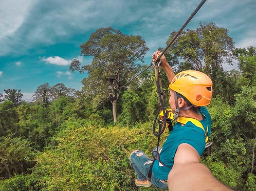 Angkor Zipline Adventure Team Building