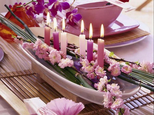 Team building with Thai Table Decoration