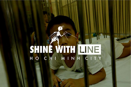 Shine with Line in HCMC