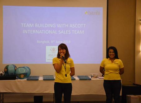 "Bangkok Indoor team building ""The cohesive team"" with Ascott International"