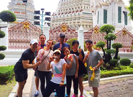 Team building Bangkok Amazing Race with Tybourne Capital