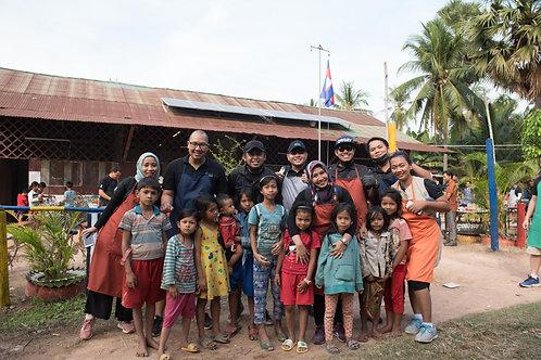 CSR event at Samrong Village