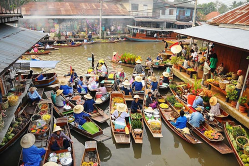 Amphawa Markets Lifestyle CSR team building tour