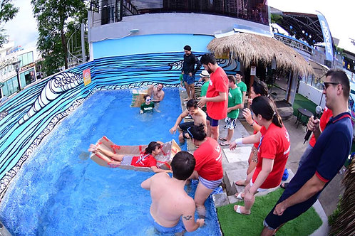 Water Day Hurray Team Bonding activity in Hua Hin