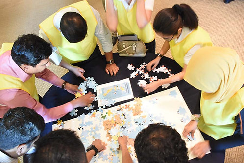 Puzzle it out Pattaya group activity