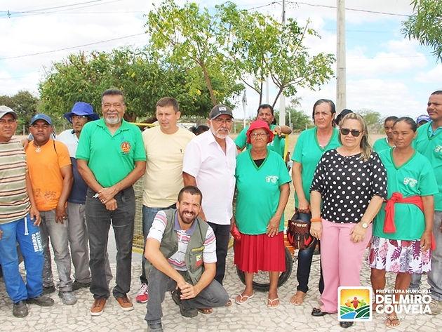 Projeto-piloto da Coleta Seletiva é lançado pela Secretaria de Meio Ambiente de Delmiro Gouveia