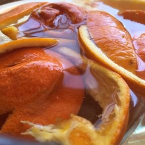 Easy Orange Peel Cordial Recipe