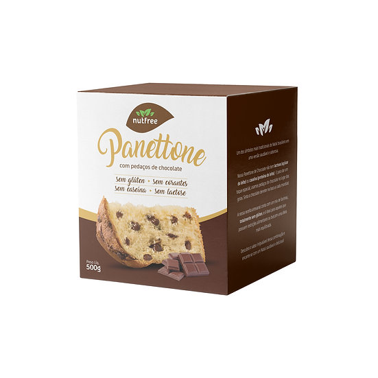 Panetone de Chocolate Gourmet (SEM LEITE)
