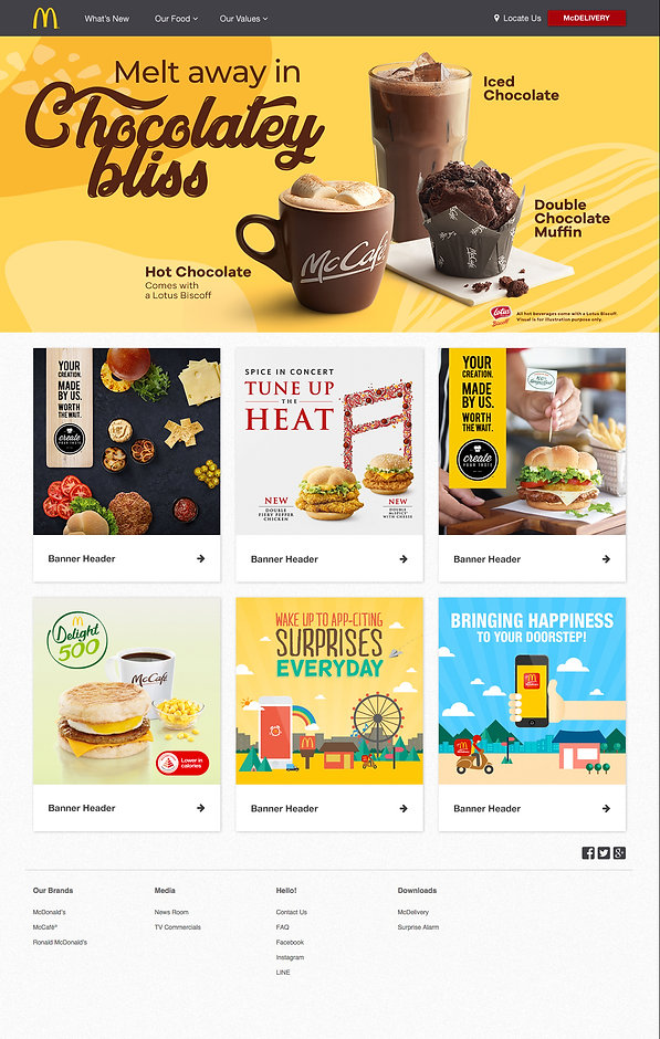 McCafe August POP_Landing page banner in