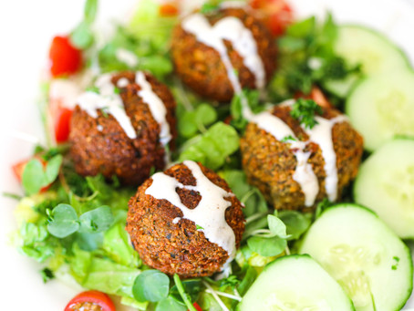 Zesty Authentic Herb Falafels